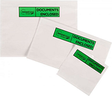 Pack List Documents Enclosed Wallets Green A6 1000 Per Box