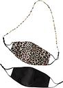 Marcus Adler Men's Set Of Masks With Beaded Chain -  -