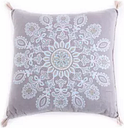 Levtex Wythe Spa Medallion Pillow With Tassels -