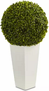 Nearly Natural Boxwood Topiary Ball Artificial Plant -