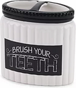 Avanti  Chalk It Up Toothbrush Holder 4.12-In. X 2.26-In. X 4.25-In. -