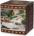 Creative Bath  Horse Canyon By Hautman Brothers Tissue Box -