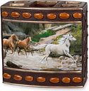 Creative Bath  Horse Canyon By Hautman Brothers Toothbrush Holder -