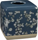 Creative Bath  Indigo Blossom Boutique Tissue Holder -  -