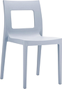 Lucca Dining Chair Silver