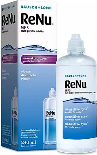 Renu Multipurpose Contact Lens Solution 240ml