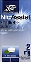 Boots Pharmaceuticals NicAssist 2mg Mint Lozenge Nicotine- 96 Lozenges