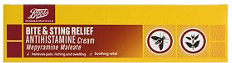 Boots Bite & Sting relief antihistamine cream 30g