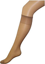 Boots Glossy Knee High Natural Tan 3 Pack