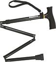 Homecraft Folding Adjustable Walking Stick - paisley