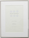 Sixtrees park lane silver photo frame 4x6