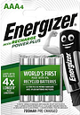 Energizer Recharge Power Plus AAA 4 Pack Batteries