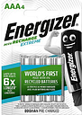 Energizer Recharge Extreme AAA 4 Pack Batteries