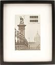 Sixtrees hanover photo frame black 5x7