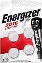 Energizer CR2016 4 Pack