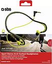 SBS Sport Stereo Arch Earbud Earphones