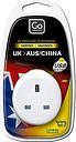 Go Travel UK to Australia/China USB Adaptor