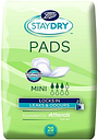Staydry Mini Pads for Light Incontinence - 20 Pack