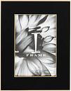 I-Frame Black Epoxy Photo Frame 4x6