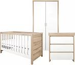 Tutti Bambini Modena 3 Piece Room Set (Cot Bed, Changer, Wardrobe)