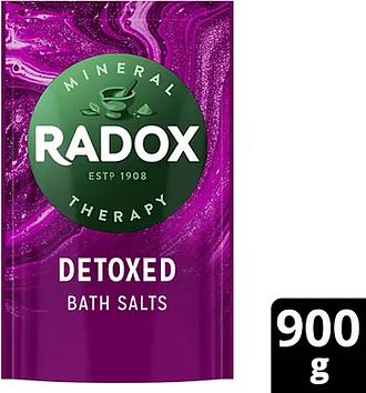 Radox Detoxed Bath Salts 900g
