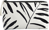 Boots Palm Tree Brushstroke Cosmetic Bag