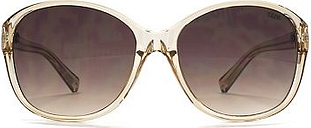 Suuna Woman Sunglasses - Crystal Mink and Pale Gold Frame