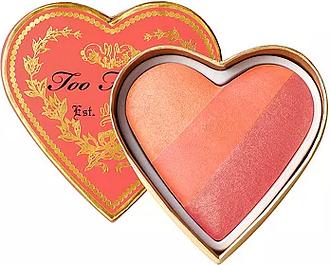Too Faced sweethearts flush blush Peach Beach