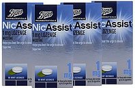 Boots NicAssist Mint 1mg Lozenges 4 x 96 Bundle