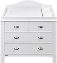 East Coast Toulouse Dresser - White