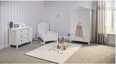 East Coast Toulouse Roomset - White