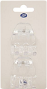 Boots Small Jaw Clips x2 Clear