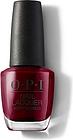 OPI Nail Lacquer - Malaga Wine - Red 15ml