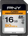 PNY Turbo Performance Class 10 SDHC Memory Card - 16 GB