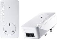 DEVOLO dLAN 550 duo Powerline Adapter Kit - Twin Pack