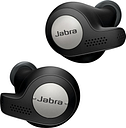 JABRA Elite Active 65t Wireless Bluetooth Headphones - Titanium Black, Titanium