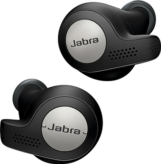 JABRA Elite Active 65t Wireless Bluetooth Headphones - Titanium Black, Titanium