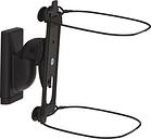 SANUS WSWM22-B2 Tilt & Swivel Sonos Speaker Bracket - Black, Black
