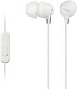 SONY EX15APW Headphones - White, White