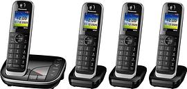 PANASONIC KX-TGJ424EB Cordless Phone - Quad Handsets