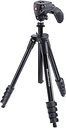 MANFROTTO MKCOMPACTACN-BK Compact Action Tripod - Black, Black