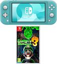 NINTENDO Switch Lite & Luigi's Mansion 3 Bundle - Turquoise, Turquoise