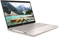 "HP Pavilion 14-ce0523sa 14"" Intelu0026regPentium™ Gold Laptop - 128 GB SSD, White & Gold, Gold"
