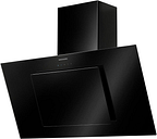 RANGEMASTER Opal 100 Chimney Cooker Hood - Black, Black