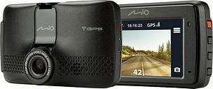 MIO MiVue 733 Full HD Dash Cam - Black, Black