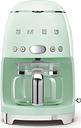 SMEG 50's Retro DCF02PGUK Filter Coffee Machine - Pastel Green, Green