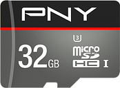 PNY Turbo Class 10 microSDHC Memory Card - 32 GB