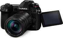 PANASONIC LUMIX G DC-G9 Mirrorless Camera with LEICA DG VARIO-ELMARIT 12-60 mm f/2.8-4.0 ASPH POWER O.I.S. Lens, Sand