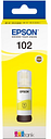 EPSON 102 Ecotank Yellow Ink Bottle, Yellow
