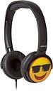 GROOV-E GV-EMJ15 EarMOJI's Cool Face Kids Headphones - Black, Black
